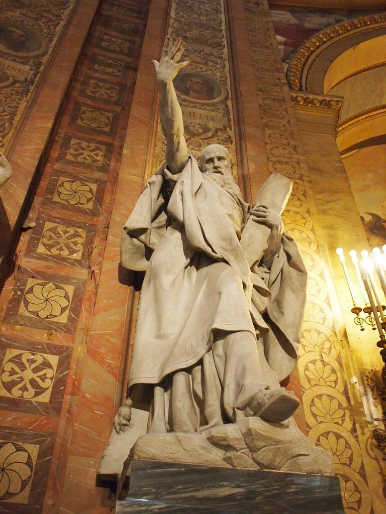 Real Basílica de San Francisco el Grande in Madrid  BEARDED ROMAN